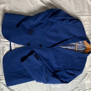 "Blue Express ""Photographer"" Fitted Blazer"